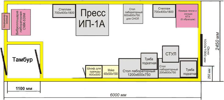 Контейнер-здание №2 усиленное, с кондиционером