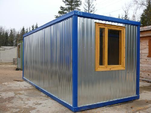 Блок-здание для АБЗ